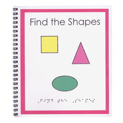 Childrens Braille Book: Find the Shapes Price: $12.95