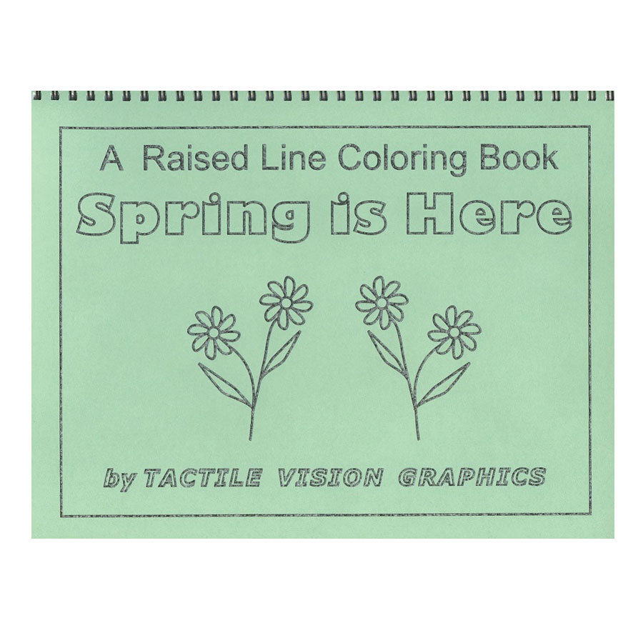 A Raised Line Coloring Book - Spring is Here Price: $11.95