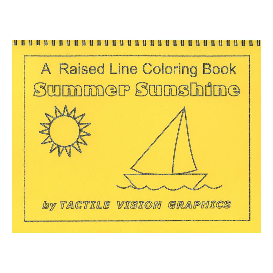 A Raised Line Coloring Book - Its Summer Price: $11.95