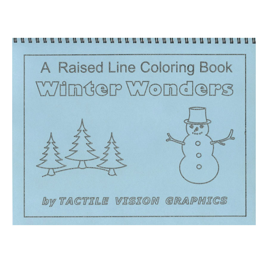 A Raised Line Coloring Book- Winter Fun Price: $11.95
