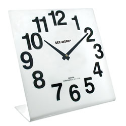Reizen Giant View Clock: White Face Price: $22.95