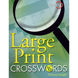 Large Print Crosswords No. 6 Price: $12.95