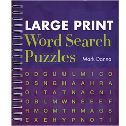 Large Print Word Search Puzzles Price: $12.95