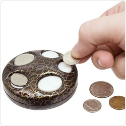 Coinboy Pocket Coin Dispenser - click to view larger image