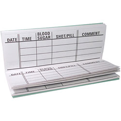large-print diabetes register