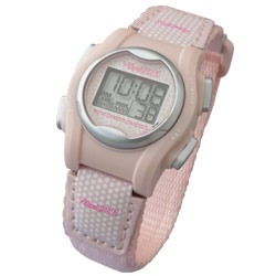VibraLITE Mini Vibration Watch-Pink Hook-Loop Band Price: $49.95