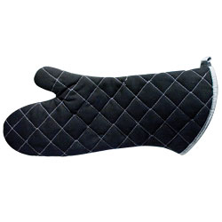 BONUS 12-PACK - Reizen Flame Retardant Oven Mitts, 17 inches, Black Price: $37.69