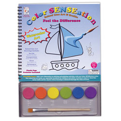 Raised Line and Braille Watercolor Art Set Price: $14.95