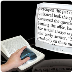 ezRead Electronic Magnifier - Value Priced Reading Aid for Low Vision Price: $99.95