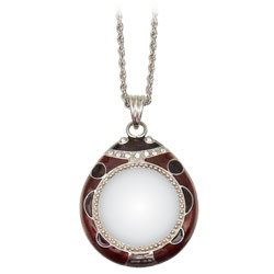4x Pendant Magnifier in Silver-Tone Finish Price: $12.95
