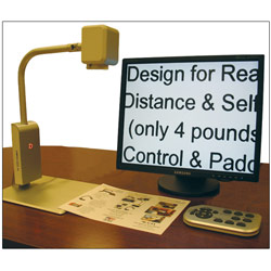 Eye-View Desktop Video Magnifier Price: $2,100.00