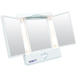 Conair Illuminating Three Panel Makeup Mirror Price: $39.95