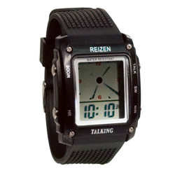 Reizen Talking Analog-Digital Watch- English - click to view larger image