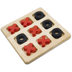 Tic-Tac-Toe - All Wood Tactile Version Price: $14.95