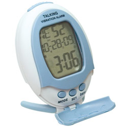 Reizen Talking Vibrating Alarm Clock Price: $14.95