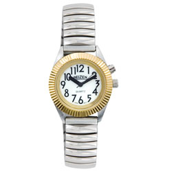 Reizen Womens Glow Low Vision Watch with Blue EL Light Price: $12.95