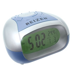 Reizen Talking Alarm Clock with Time and Temperature Price: $17.95