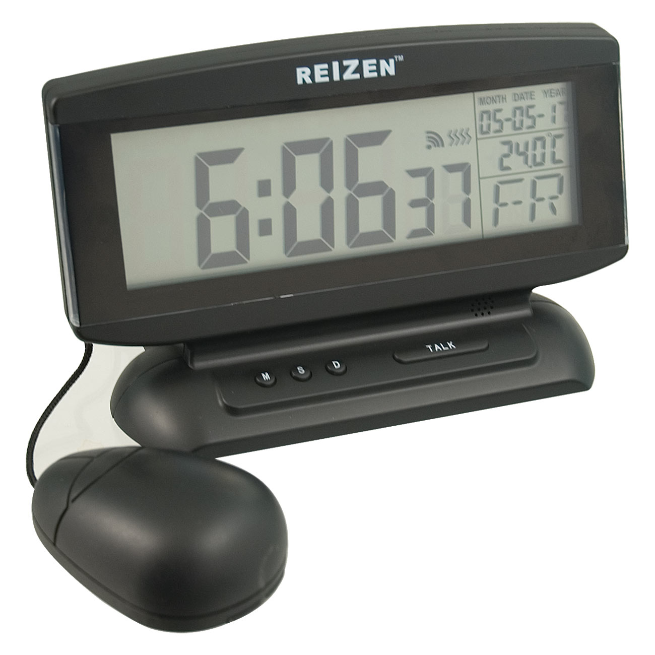 Talking Clock with Large LCD Display and Vibrator Price: $29.95