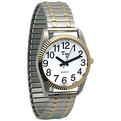 Low Vision Watch: Womens with Expansion Band Price: $24.95