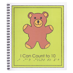 Braille Childrens Book: I Can Count to Ten Price: $12.95