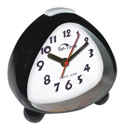 Big Talking Analog Clock with White Dial - click to view larger image