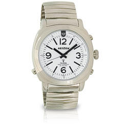 MaxiAids Reizen Talking Atomic Watch with Top Light - Expansion Band (712180) at Sears.com