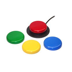 Jelly Bean Twist - Accessible Switch- Set of 4 Colors Price: $55.00