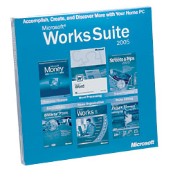 Microsoft Works Suite 2006 Price: $99.95