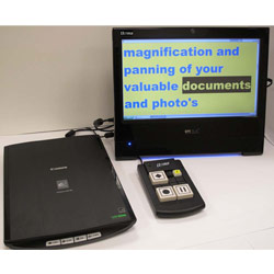 Ultima Electronic Magnifier and Reading Machine Price: $2,695.00
