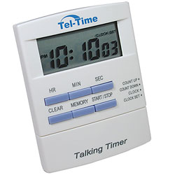 Tel-Timer - Talking Countdown Timer - click to view larger image