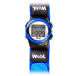 WobL 8-Alarm Vibrating Reminder Watch: Blue Price: $36.00