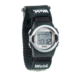 WobL 8-Alarm Vibrating Reminder Watch: Black Price: $36.00