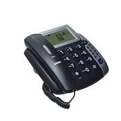 Talking Caller ID Speaker Phone with Large Buttons Price: $29.95