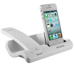 Wi500 iCreation Bluetooth Handset- iPhone Dock-Wht Price: $59.95