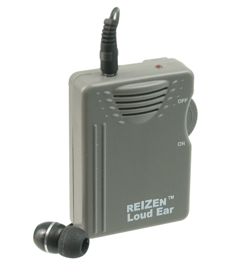 Reizen Loud Ear 120dB Gain Personal Amplifier Price: $29.95
