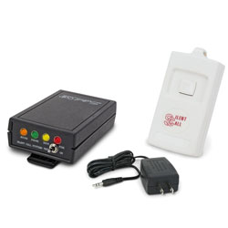 Personal Paging System for Multiple Locations- Kit 2 -Transmitter, Pager, Battery Charger - click to view larger image