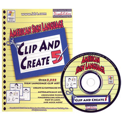 ASL Clip and Create CDRom, Ver. 5 Price: $39.95