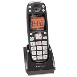 ClearSounds DECT 6.0 25dB Amplified Expandable Cordless Handset Price: $79.70