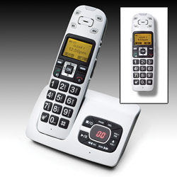 A500 Amplified Talking Cordless Phone Bundle Price: $219.95