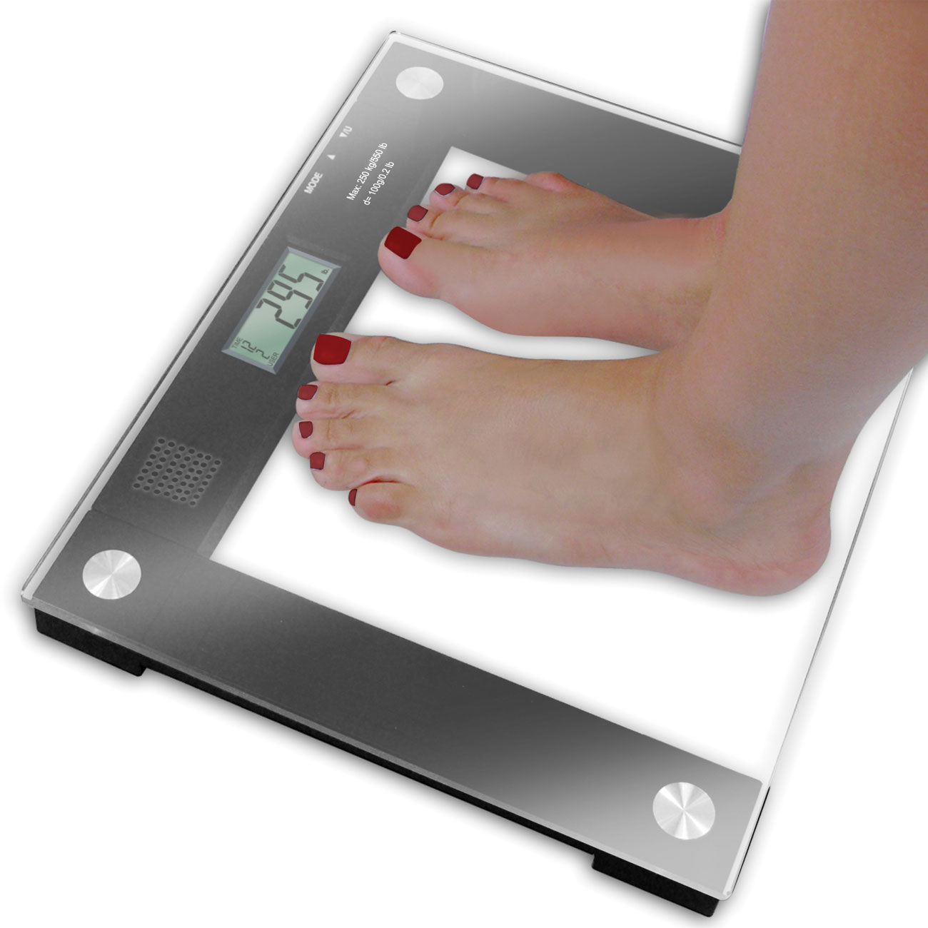 Extra Wide Talking Scale - 550-lb Capacity Price: $54.95