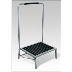 Extra-Wide Folding Step Stool with Handle Price: $44.95