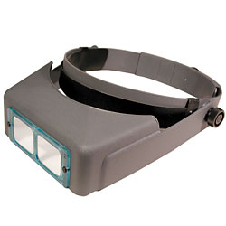 Optivisor Optical Glass Binocular Magnifier - 5 Diopter 2.5X Price: $41.75