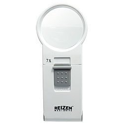 REIZEN 7x Illuminated Pocket Magnifier Price: $25.99