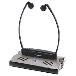 WIR 238 Infrared Listening System With Stethoscope -Under-Chin- Receiver Price: $161.00