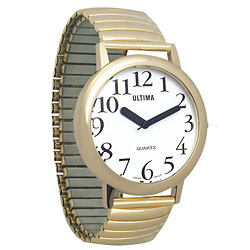 Ultima Low Vision Watch - White Dial-Unisex Price: $19.95