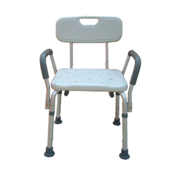 Drive Bath Bench With Removable Padded Arms With Back