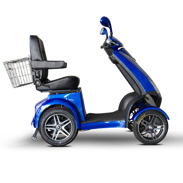 E wheels ew 72 4 wheel electric senior mobility scooter for Motorized scooters for seniors