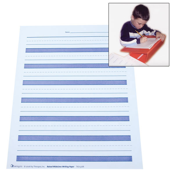 Raised Lines Paper - Hi-Contrast Black*