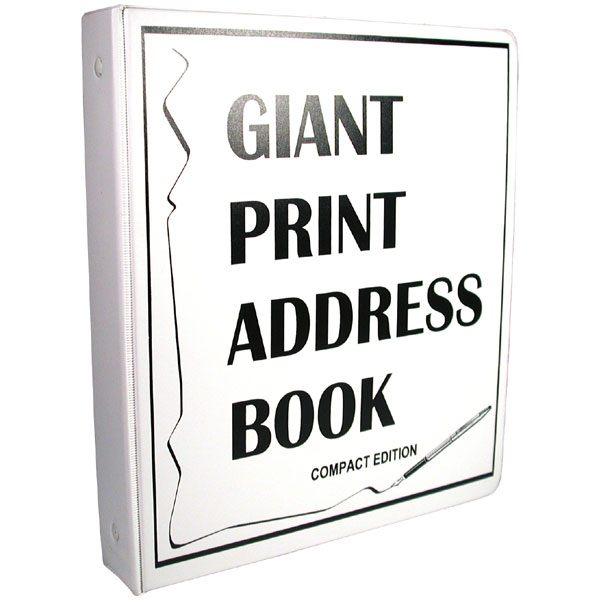 click and send how to print address book