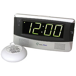 Sonic Alert Alarm Clock with Bed Shaker Price: $49.95